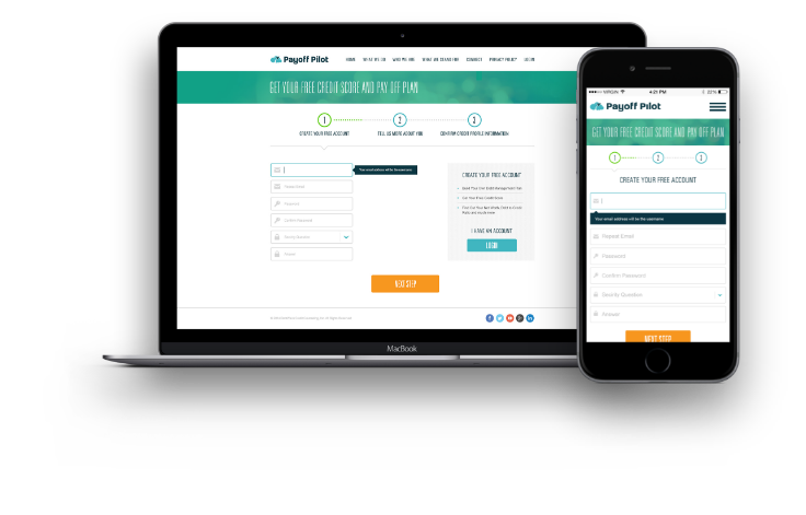 debt management web app