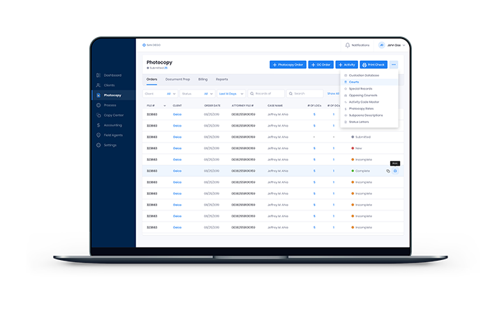 attorney services web app 3